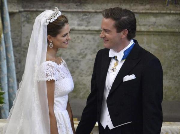 G1 Princesa Madeleine & Christopher ONeill