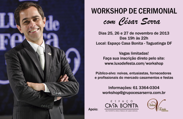 CESAR SERRA 2 Workshop de Cerimonial