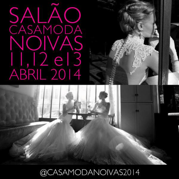 CASAMODA 2 Save the date: Casamoda Noivas 2014