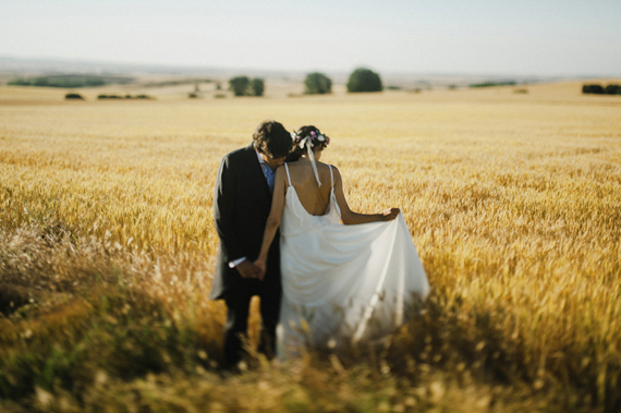 Rustic and elegant spanish wedding 8 Bom final de semana...!