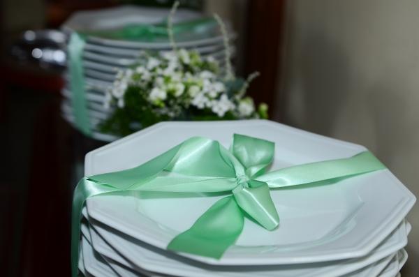 Nina 190 Decoração: verde e branco