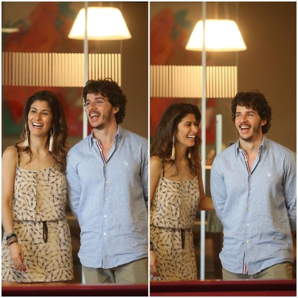 434 Camila e Pedro {Almoço para Padrinhos}