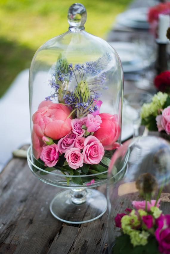 CÚPULAS COM FLORES Cúpulas + flores