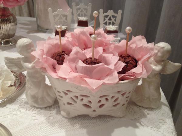 301 Decoração: rosa e branco