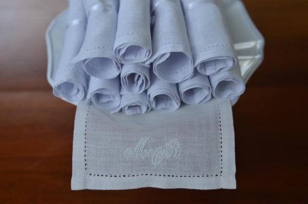 GUARDANAPO DE BOCA 2 Linha home + lembrancinhas {MT Homewear}