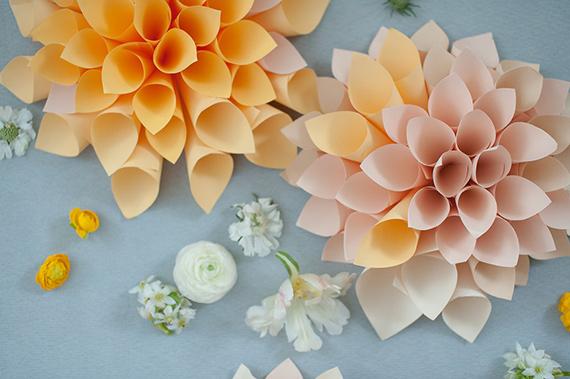flores de papel 1 DIY: flores de papel