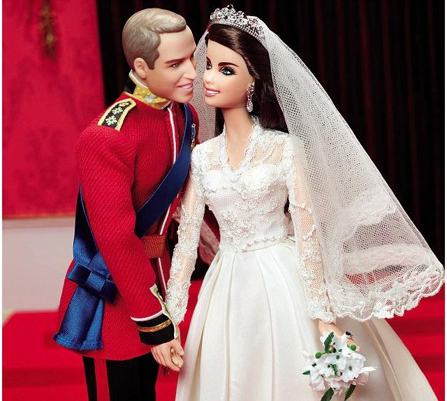 barbie km pc 640 1 Kate Middleton e Príncipe William ganham versão Barbie e Ken