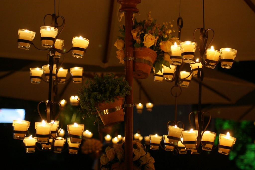 116 1024x682 Decoração: Madeira + velas