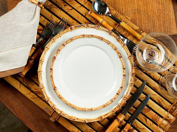 216 Detalhes em bambu para sua mesa