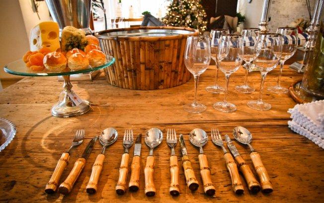 315 Detalhes em bambu para sua mesa