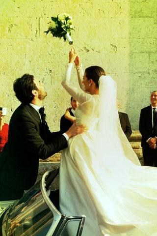 G Um lindo casamento...!