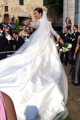 J Um lindo casamento...!