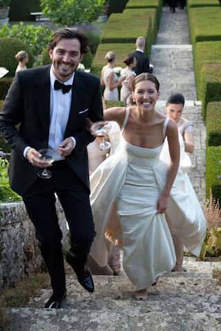 N Um lindo casamento...!