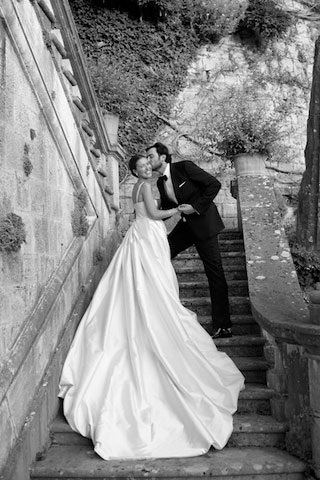 O Um lindo casamento...!