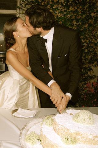 Q Um lindo casamento...!
