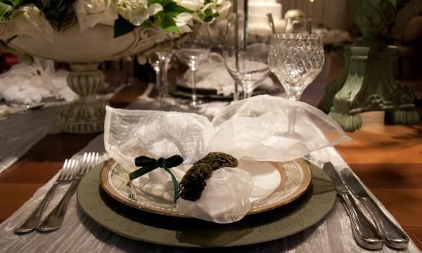 67 Decoração: verde e branco {Luxo de Festa}