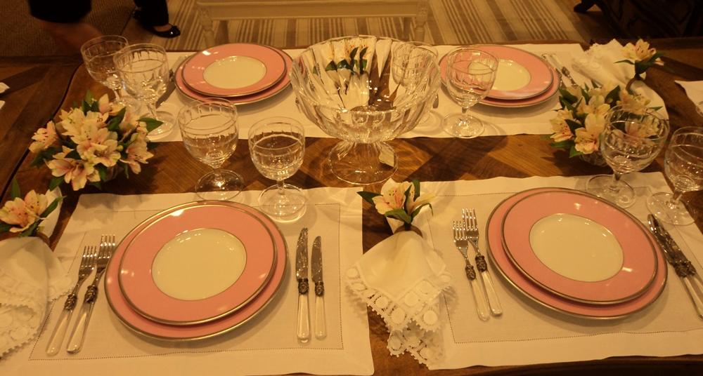 D3 Inspirações para arrumação da mesa