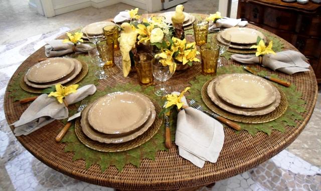 J4 Inspirações para arrumação da mesa