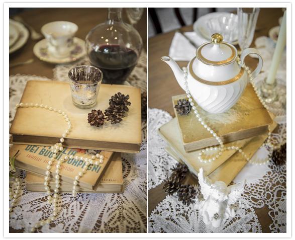 24 Bules e xícaras na decoração