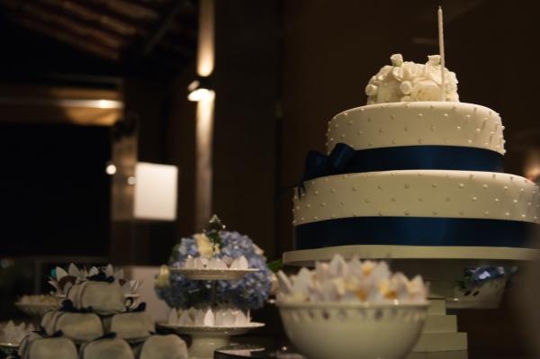 83 Azul e branco