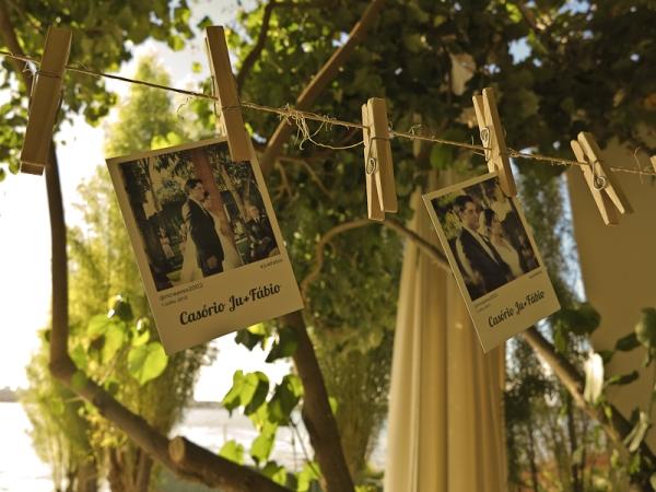 A Fotos impressas do Instagram no seu casamento