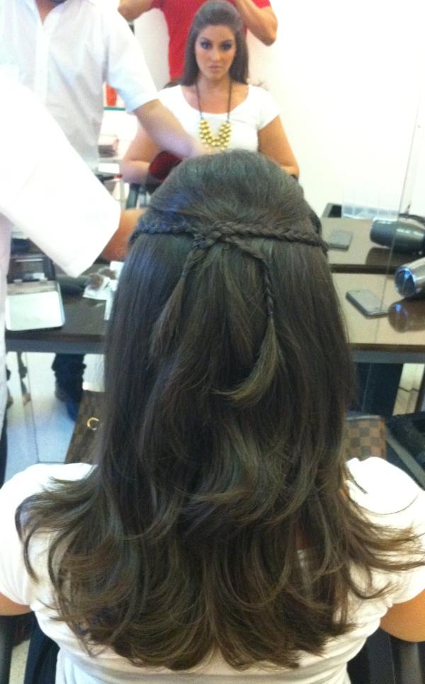134 Madrinha: cabelo e maquiagem
