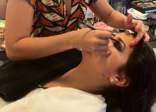 C2 Madrinha: cabelo e maquiagem
