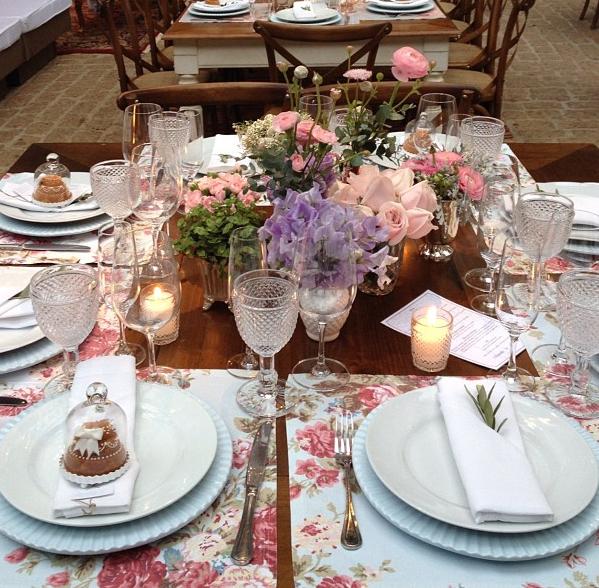 A Inspirações de mesas (do Instagram)