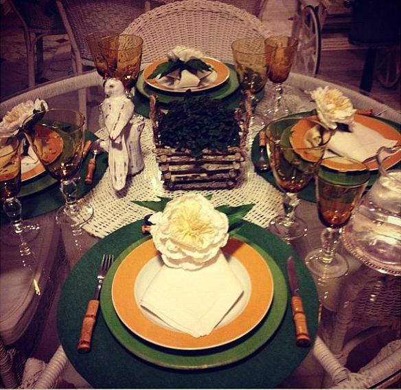 E Inspirações de mesas (do Instagram)