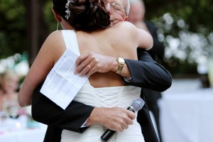 reception bride hugging father 300x200 reception bride hugging father