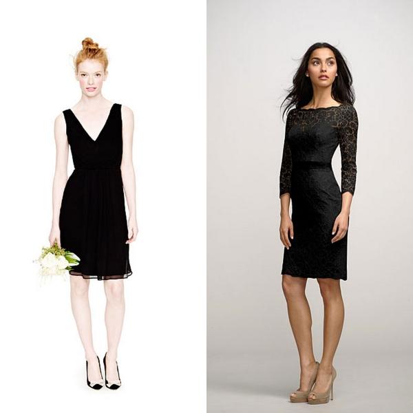 F2 Convidadas {vestidos pretos}