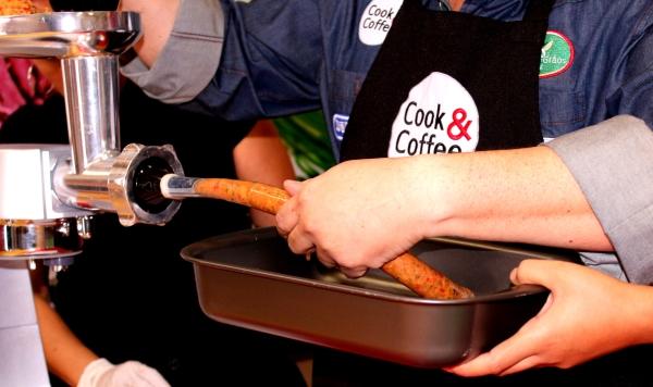 162 Cook & Coffee: Comidas de Boteco {Quibe e Linguiça}
