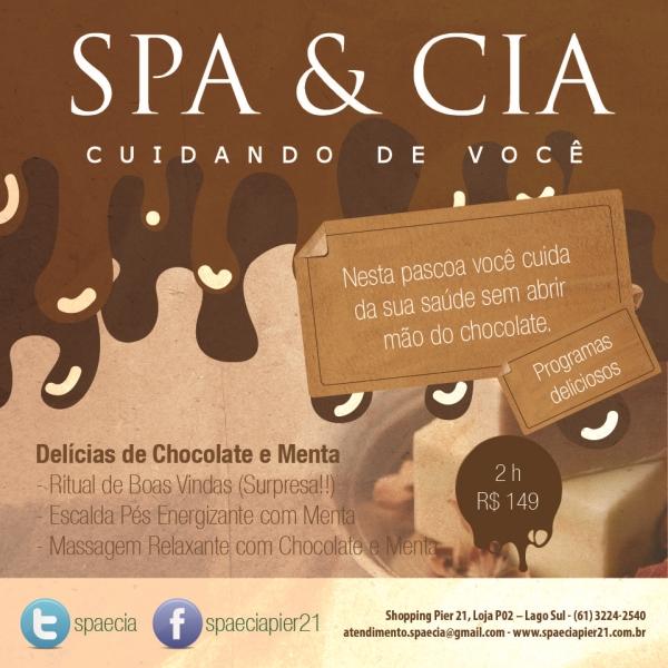 Midia Social 1 Sorteio: Programa com massagem no Spa & Cia