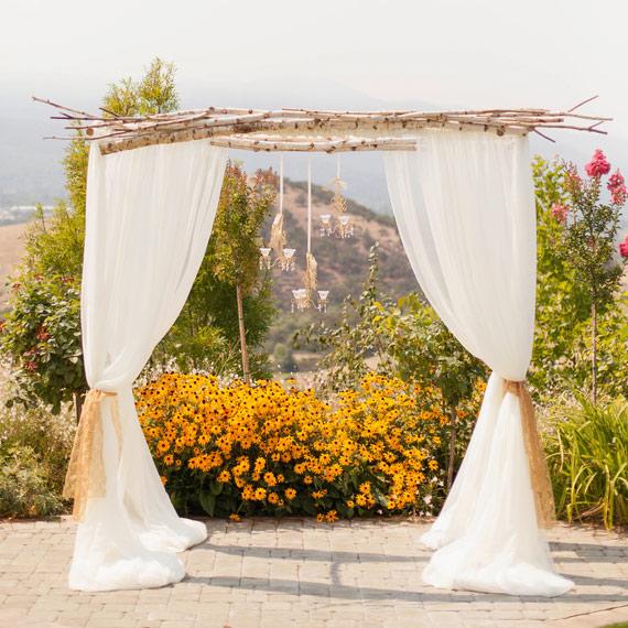 elegant vinyard wedding 9 Ao ar livre