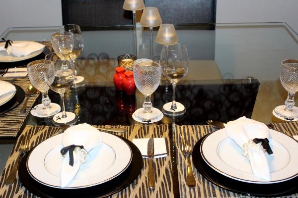 1 Mesa para o jantar