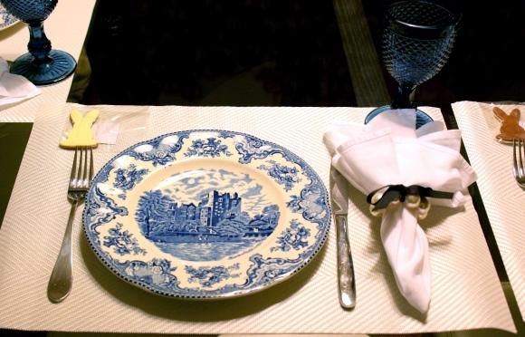 116 Mesa para o Jantar {azul + branco}