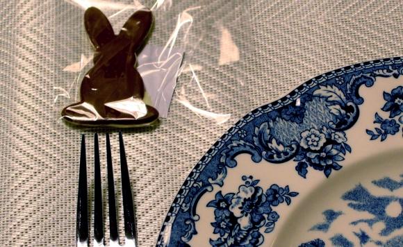 96 Mesa para o Jantar {azul + branco}