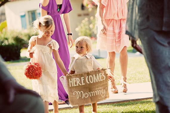 Mexican themed desert wedding 9 Para noivas que são mães