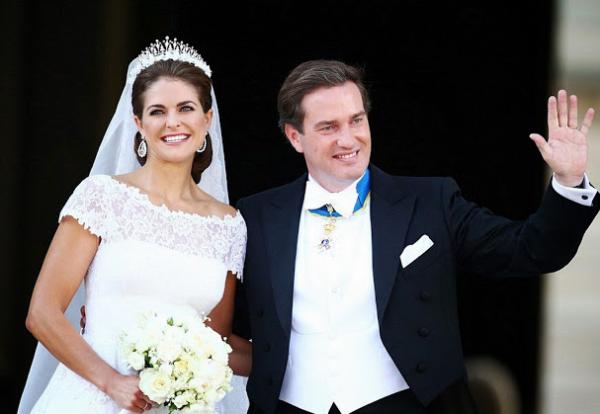 24 Princesa Madeleine & Christopher ONeill