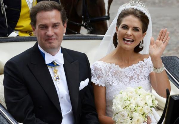 6 Princesa Madeleine & Christopher ONeill
