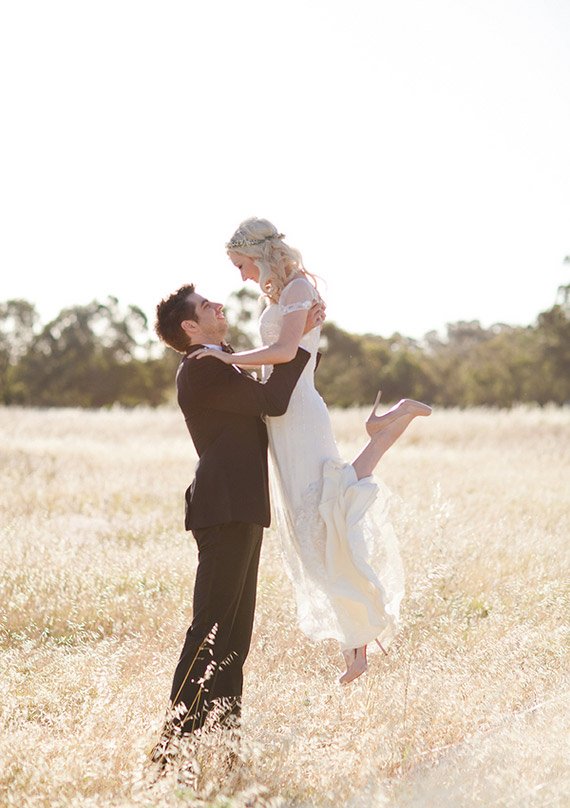 Whimsical Australian wedding 16 Que seja leve...!