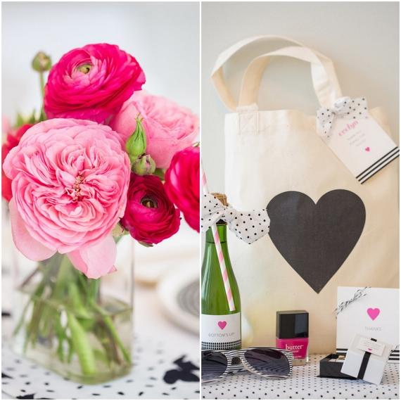 CC Preto, branco e rosa