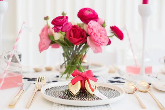S Preto, branco e rosa