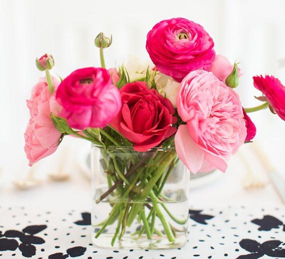 aa Preto, branco e rosa