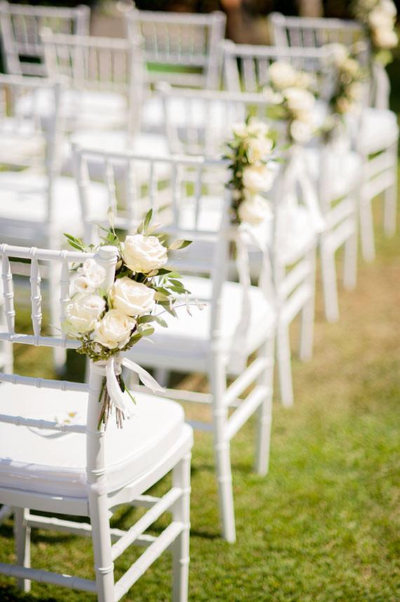 FLORES CADEIRA 1 Flores para as cadeiras da cerimônia