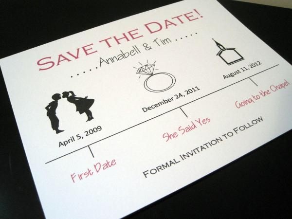 SAVE THE DATE 1 Save the date: criações fofas