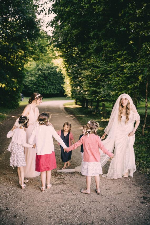 CRIANÇAS Noiva + crianças