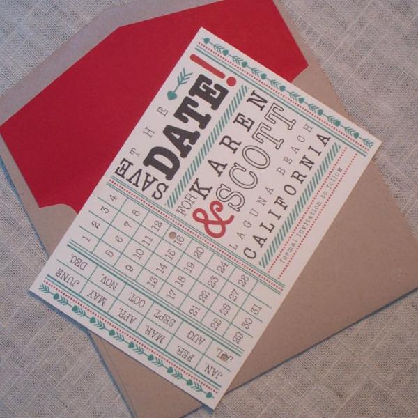 SAVE THE DATE 3 Save the date: criações fofas