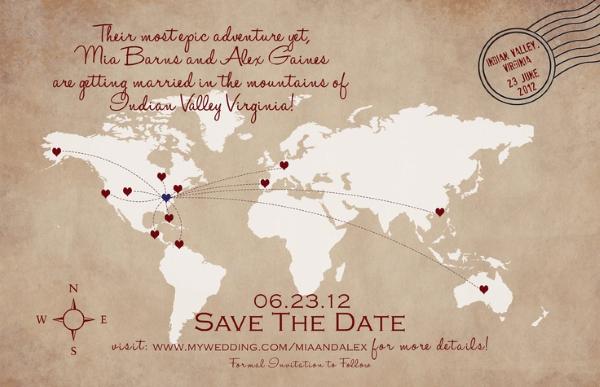 SAVE THE DATE 5 Save the date: criações fofas