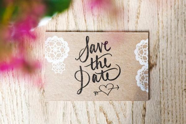 SAVE THE DATE 7 Save the date: criações fofas